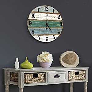 Coastal Beach Wall Clocks
