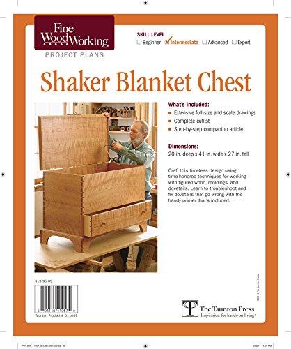 Book: Fine Woodworking's Shaker Blanket Chest Plan