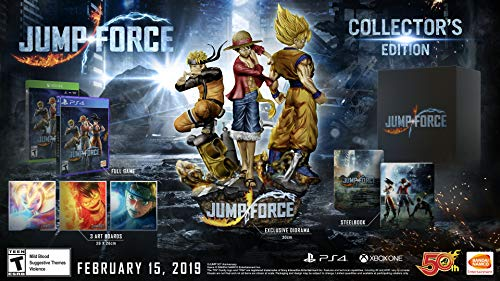 Jump Force - PlayStation 4 Collector's Edition -  Bandai