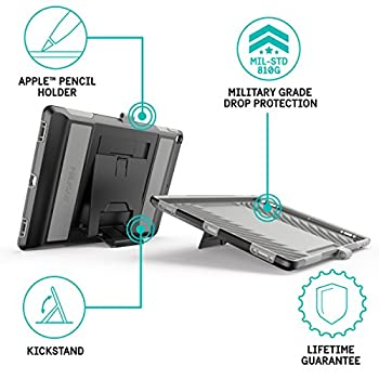 "Pelican Voyager Ipad Pro 12.9"" Case (1st2nd Generation) - Blackgrey 1"