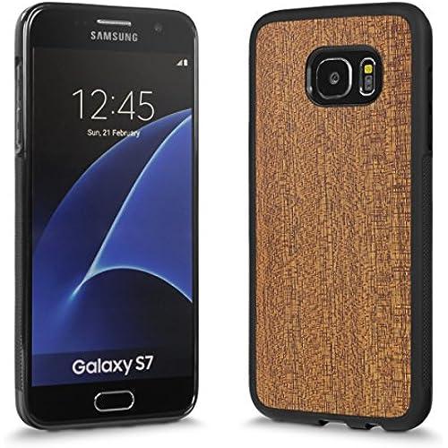Cover-Up #WoodBack Explorer Real Wood Case for Samsung Galaxy S7 Edge - Mahogany Sales