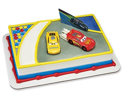 A1 Bakery Supplies Cars 3 Ahead of The Curve Cake Decorating Topper ()