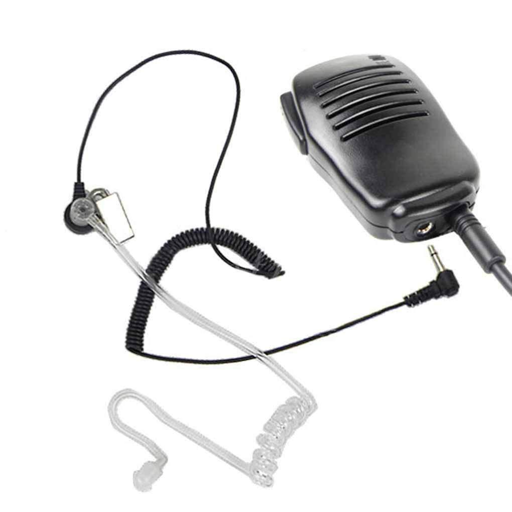 Uzinb Spina di 2.5mm di Solo ascolto Air Tubo Ricevitore telefonico di Ricambio per BAOFENG UV-5R UV-5RA Radio bidirezionale Altoparlante Microfono