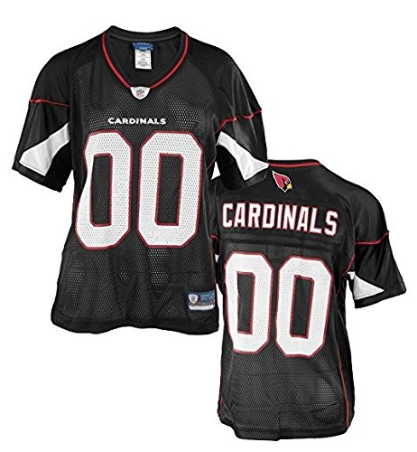 Arizona Cardinals Football Jersey (Arizona Cardinals NFL Womens Team Alternate Replica Jersey, Black)