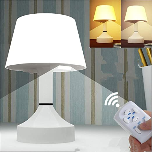Elegante lámpara de Mesa LED Recargable por USB, 3 Colores ...