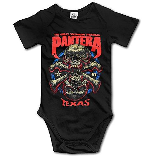 Pantera Baby Onesie - Pantera Heavy Metal Band Kids Boys Girls Baby Onesies Clothing Short Sleeve