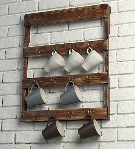 dish display wall rack - 2