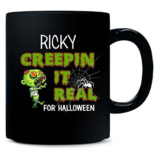Ricky Creepin It Real Funny Halloween Costume Gift - Mug