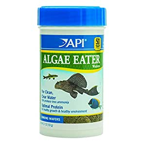 API ALGAE EATER WAFERS Algae Wafer Fish Food 3.7-Ounce Container