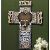 Abbey Gift Faith Hope Love Marriage Cross