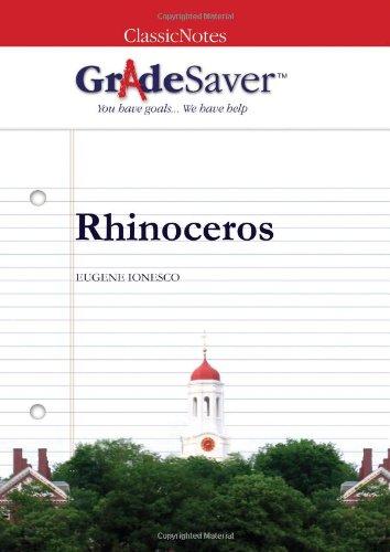 rhinoceros ionesco essay