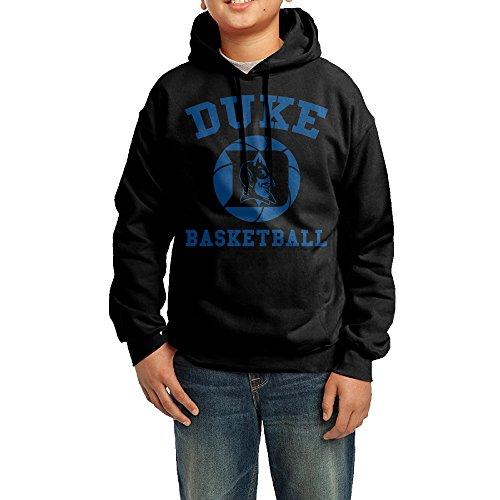 QSDFE Youth Boys/Girls Hoodie Duke University Black Size L