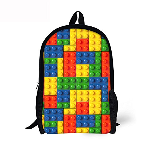 Xinind Cool Children School Book Bag 3D Toys Printing Kids Backpacks Boys Girls Casual Bag (other 1)
