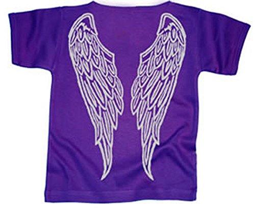 Toddler T-shirt Angel (Angel Wings T-shirt - Purple 1 - 2 Yrs)