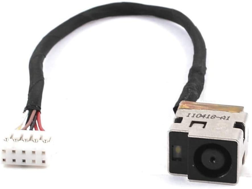 Computer Cables Yoton DC Power Jack Cable for HP Pavilion dv6-3000 dv6t-3000 dv6t-3100 dv6t-3200 Cable Length: Other
