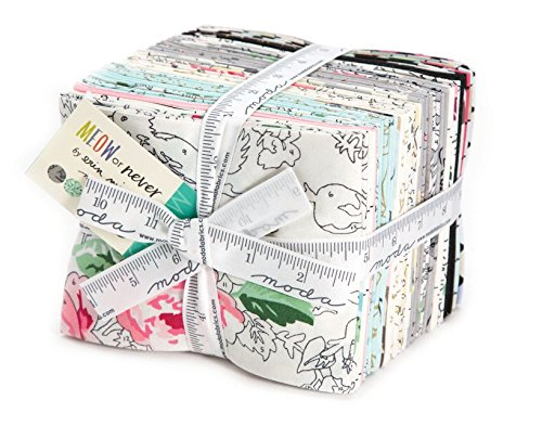 Erin Michael Meow Or Never 27 Fat Quarter Bundle Moda Fabrics 26110AB by Moda Fabrics