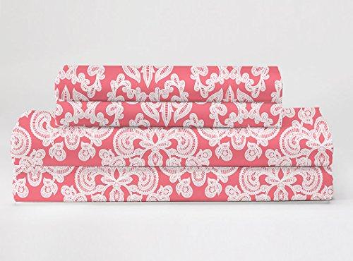 Feather & Stitch 300 Thread Count 100% Cotton Sheet Set, Sof