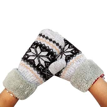Sunward Women Lady Winter Warm Soft Knitted Wool Snow