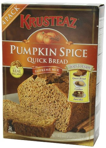 Pumpkin Spice Bread Quick Bread - Krusteaz Quick Bread Supreme Mix, NET WEIGHT 64 oz. (FOUR 1 lb MIX PACK) by Krusteaz (Image #7)