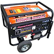 Powerland PD4000E, 3500 Running Watt/4000 Starting Watts, Gas Powered Portable Generator, CARB Compliant (Discontinued...