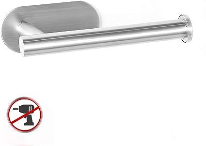 YIGII Porta Carta Igienica Adesivo Portarotolo Carta Igienica Senza Foratura Acciaio Inox