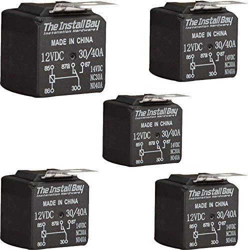 Metra Install E-123 Bay Tyco Relay 12 Volt 30 Amp Each