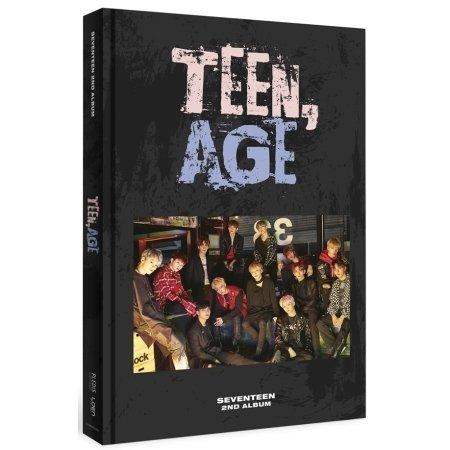 Price comparison product image SEVENTEEN 2nd Album TEEN,  AGE RS ver. CD+120p PhotoBook+Lyrics Paper+PhotoCard+Portrait Desktop Stand+Folding Poster (ON PACK)+Name Sticker Sealed