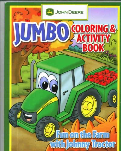 Farm Tractors Johnny Fun (Fun On The Farm With Johnny Tractor (John Deere Series))