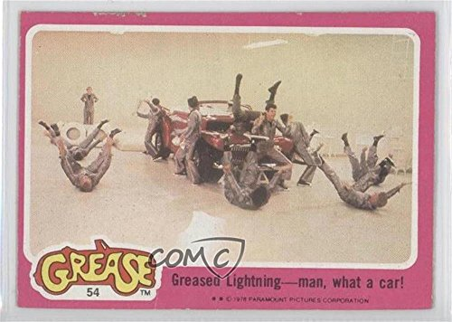 Greased Lightning - man, what a car! Ungraded COMC Good to VG-EX (Trading Card) 1978 Topps Grease - [Base] #54