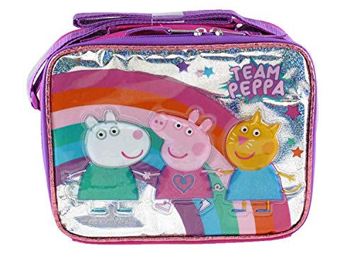 Peppa Pig Lunch Box - Team Peppa - 19193