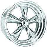 "American Racing Hot Rod Torq Thrust II VN505 Polished Wheel (16x8""/5x4.75"")"