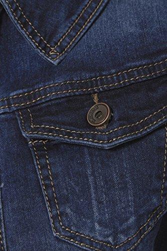 NEUF pour indigo en jeans Femmes D Veste Tailles 8 SS7 14 dBnAFd