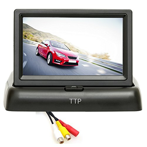 4.3 Backup Camera Monitor - Best for Rear View and Front View car Cameras by TOPTIERPRO