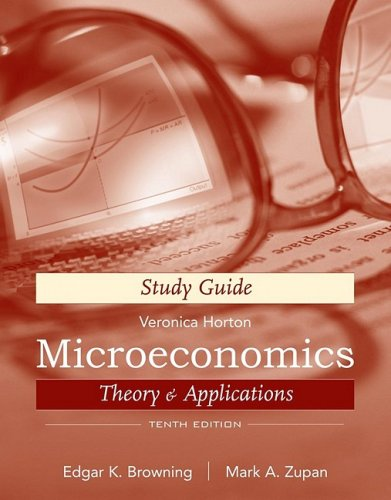 Microeconomics, Study Guide: Theory and (Microeconomics Study Guide)