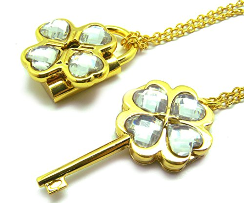 (Dailinming Shugo Chara! / Guardian Characters! Necklace with White Key Lock Pendant)
