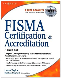Book FISMA Certification & Accreditation Handbook by Laura P. Taylor (2006-12-12)