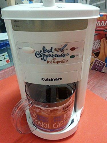 Cuisinart Iced Cappuccino and Hot Espresso Maker