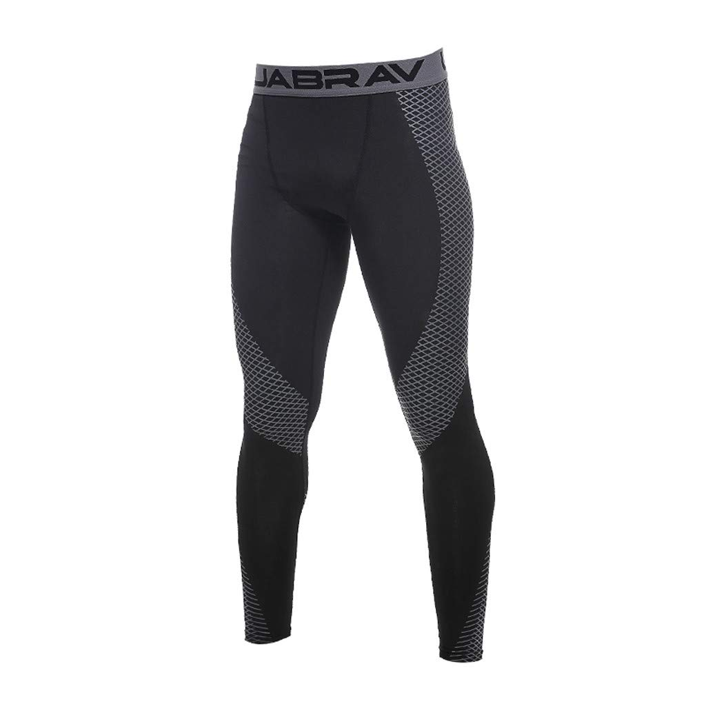 Men's Pants Outdoor Sports Training Athletic Straight Stretch Workout Sportswear Elastic Fitness Trousers Size S-2XL