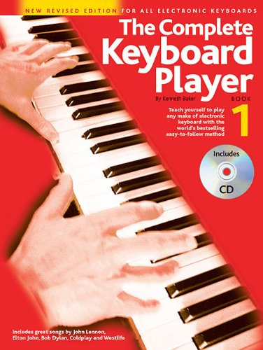 Price comparison product image The Complete Keyboard Player - Book 1: New Revised Edition for All Electronic Keyboards (Book/CD)