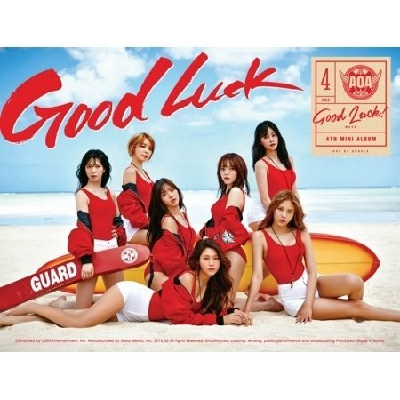 AOA - [GOOD LUCK] 4th Mini Album WEEK Ver CD+Photo Book+1p Photo Card K-POP Sealed