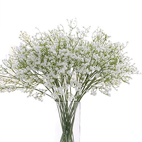 laamei Baby Breath Artificial Gypsophila Home Decor Dried Gypsophila Flower Wedding Party Decoration