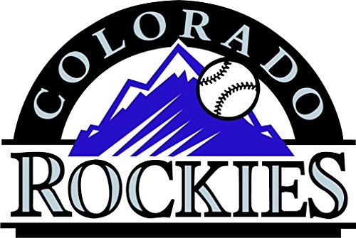 skyhighprint - Colorado Rockies MLB Baseball Sport Decor Vinyl Print Sticker 14'' X 9''