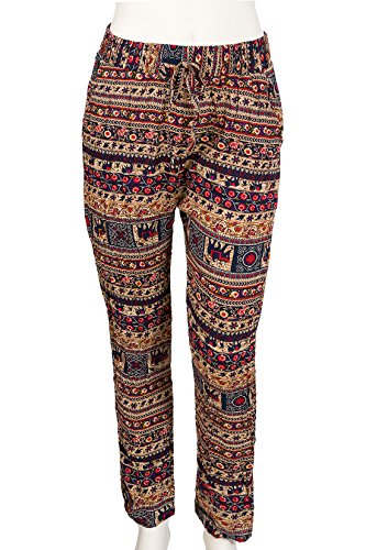 Pantalon Femme Conos Blau multicolor Sarouel A0ndnq7Cxw