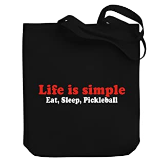 Teeburon LIFE SIMPLE EAT , SLEEP Pickleball Bolsa de Lona