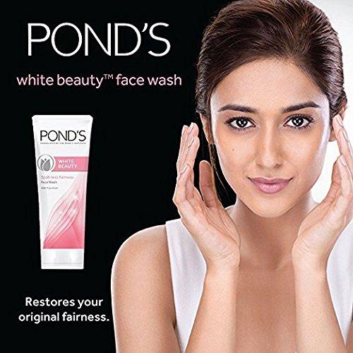 Pond's White Beauty Daily Facial Foam Spot-Less Rosy White 100g / 3.5 oz 4