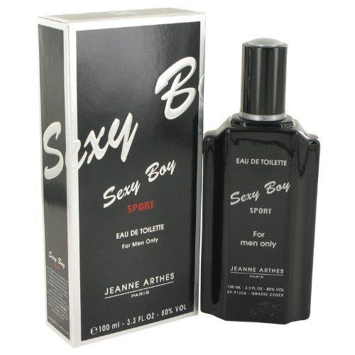Sexy Boy Sport by Jeanne Arthes Men's Eau De Toilette Spray 3.4 oz - 100% Authentic