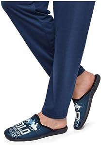 Zapatilla de Estar por casa Polo Marino: Amazon.es: Zapatos y ...