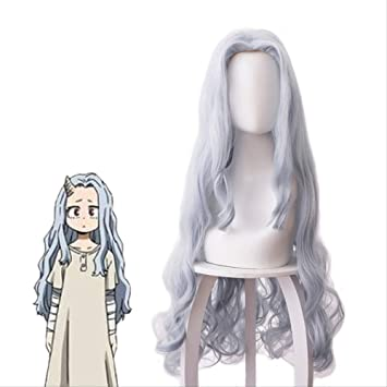 Amazon Com Anime My Hero Academia Eri Chisaki Woman Gray Blue Wig Cosplay Heat Resistant Synthetic Wigs Free Wig Cap Beauty Works and bookmarks tagged with eri (bnha) will show up in eri (my hero academia)'s filter. amazon com anime my hero academia eri