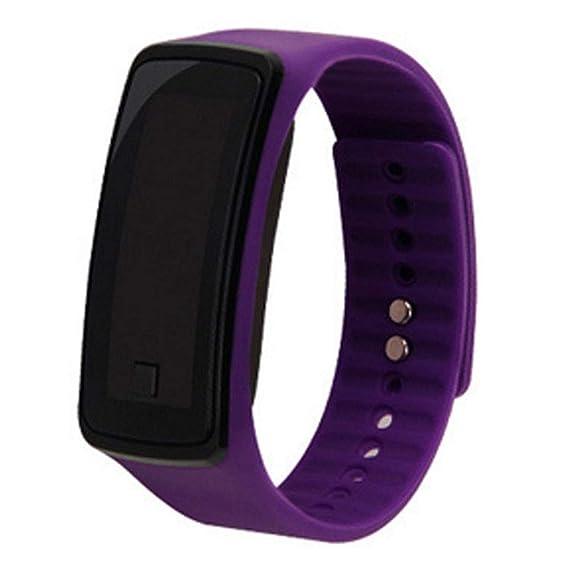 Relojes Digitales Relojes electrónicos Reloj de Deporte Relojes Exteriores de Sports Chicas Chicos Adolescentes Digital LED Relojes (Color Morado) X 1: ...