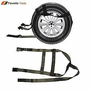 amazon com  2x car basket straps adjustable tow dolly